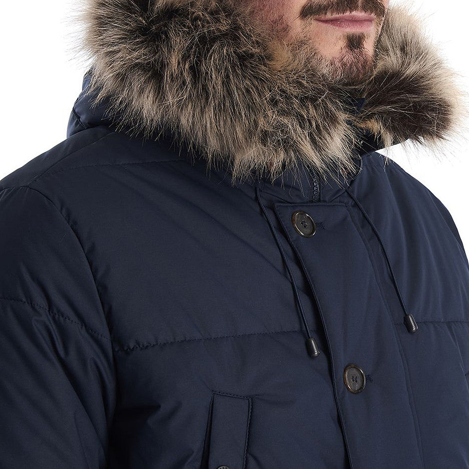 Fenny Quilted Jacket For Men In Navy