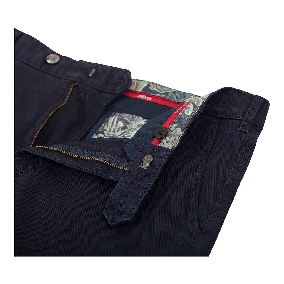 Roma Dream Finish Chinos for Men in Navy