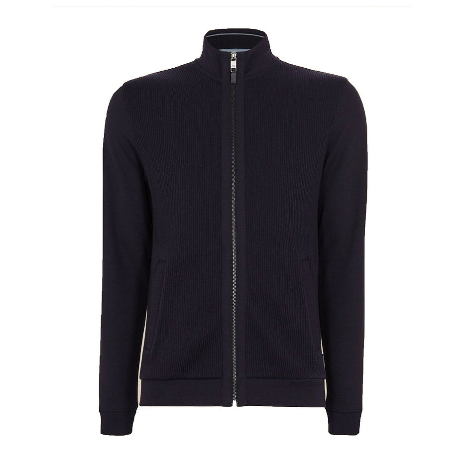 SPIED Full Zip Sweater for Men in Navy