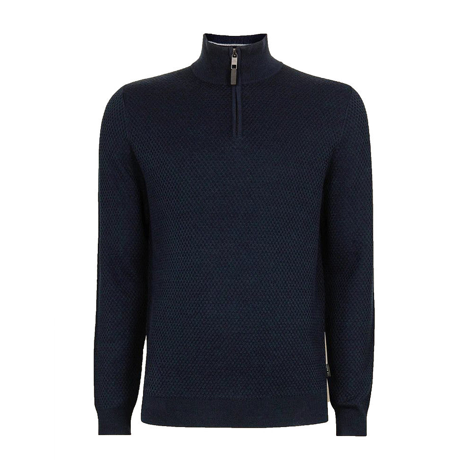 TUNNEL 1/4 Zip Sweater for Men in Navy