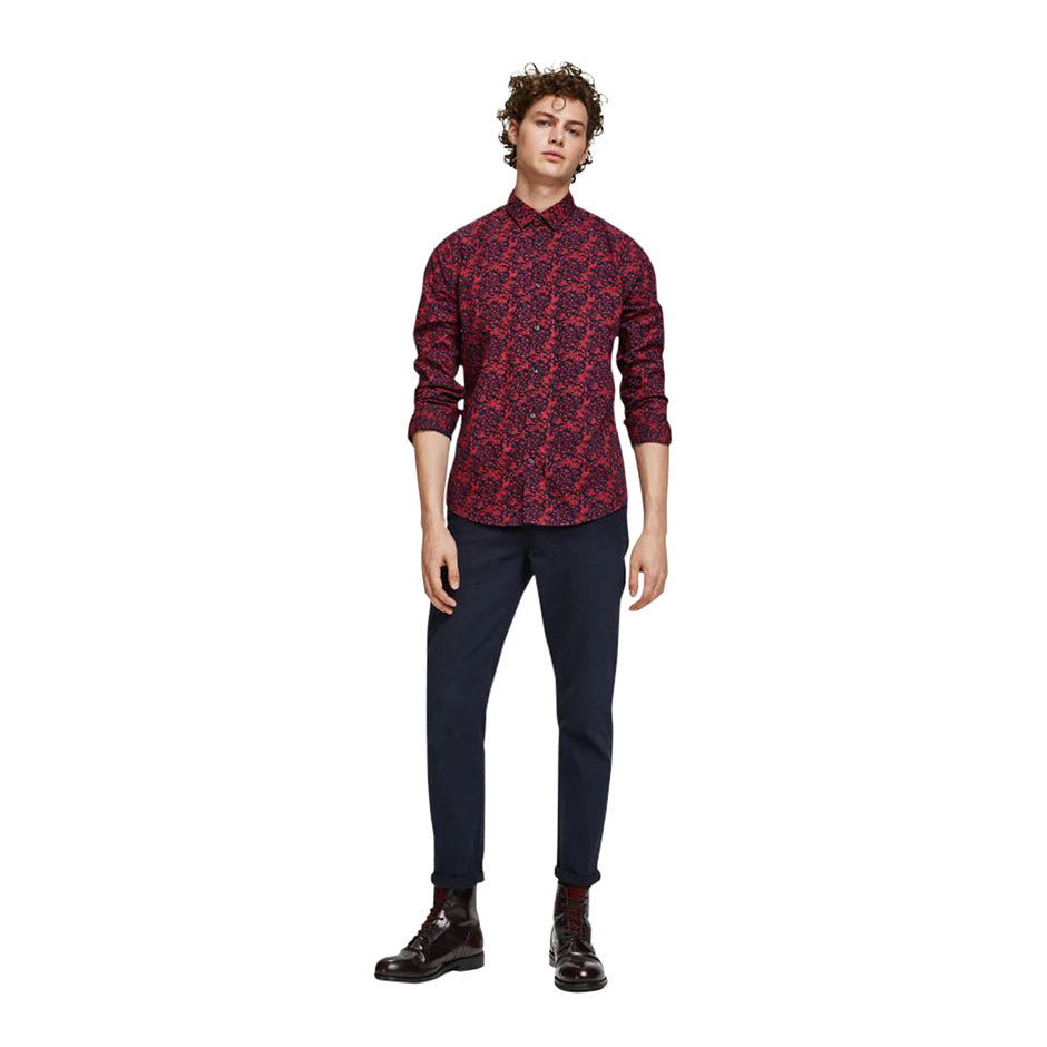 All-Over Printed Shirt for Men in Combo A