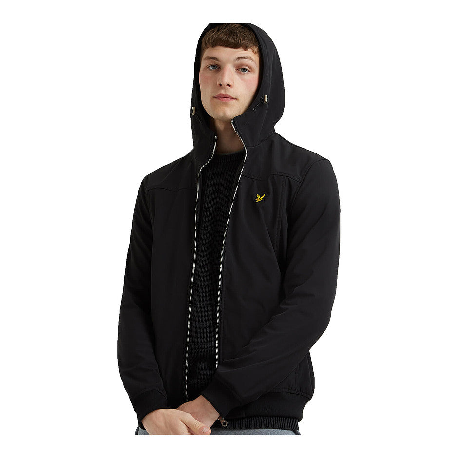 Soft Shell Jacket for Men in True Black