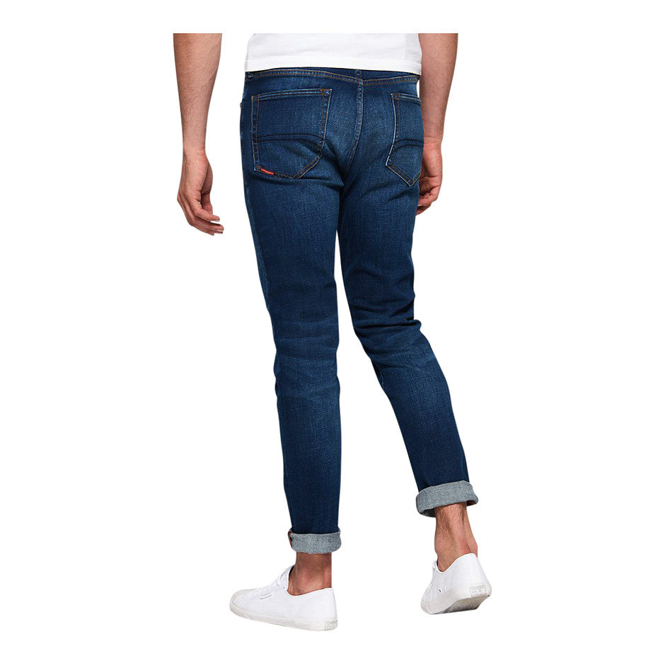 Tyler Slim Jeans for Men in Union Dark Blue