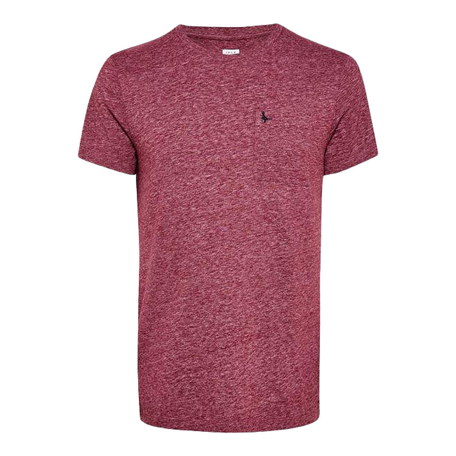 Ayleford Short Sleeve T-Shirt for Men in Damson