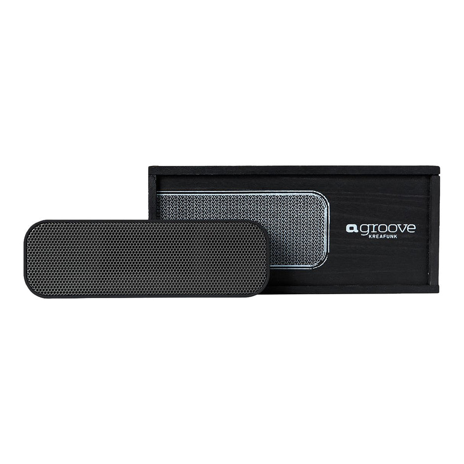 aGROOVE Bluetooth Speaker for Men in Black