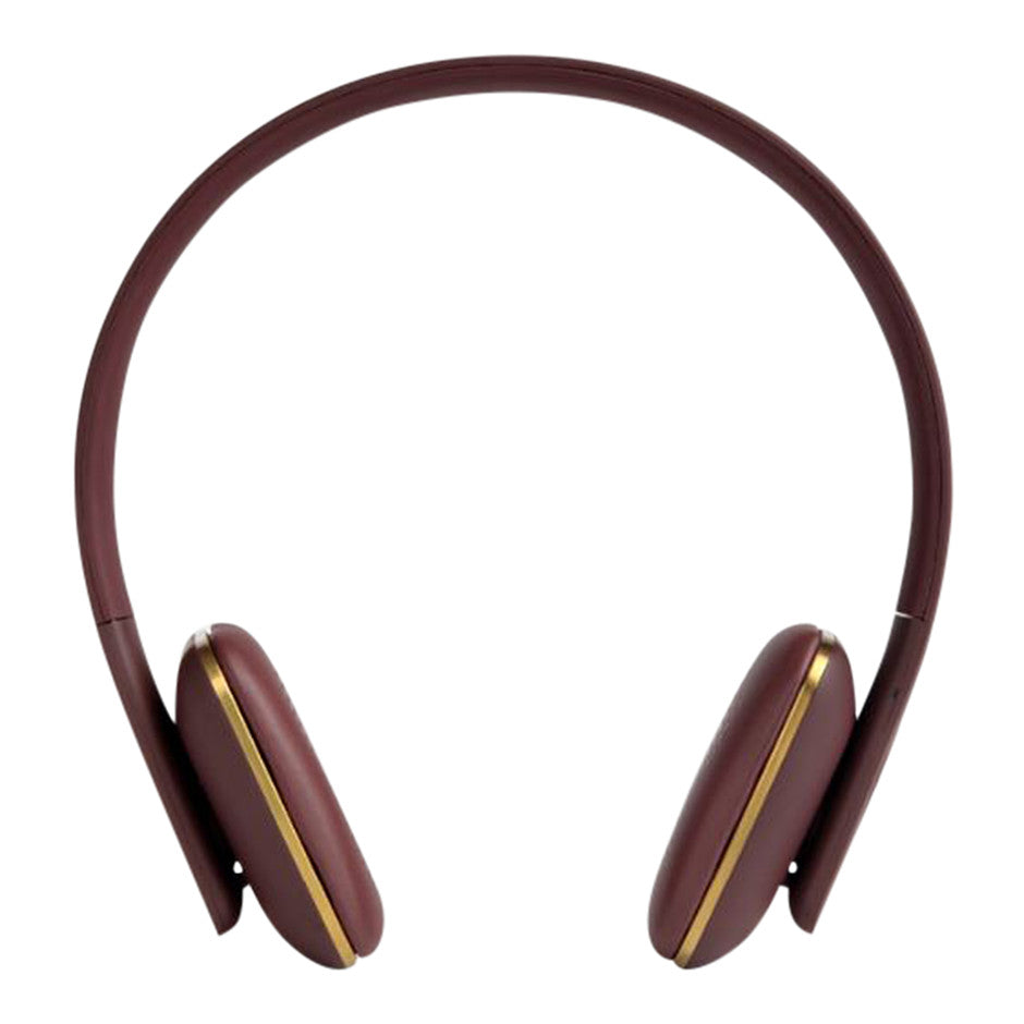 aHEAD Bluetooth Headphones in Burgundy