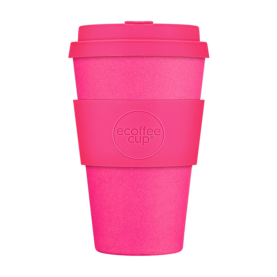 Pink'd 14oz Travel Cup in Bright Pink