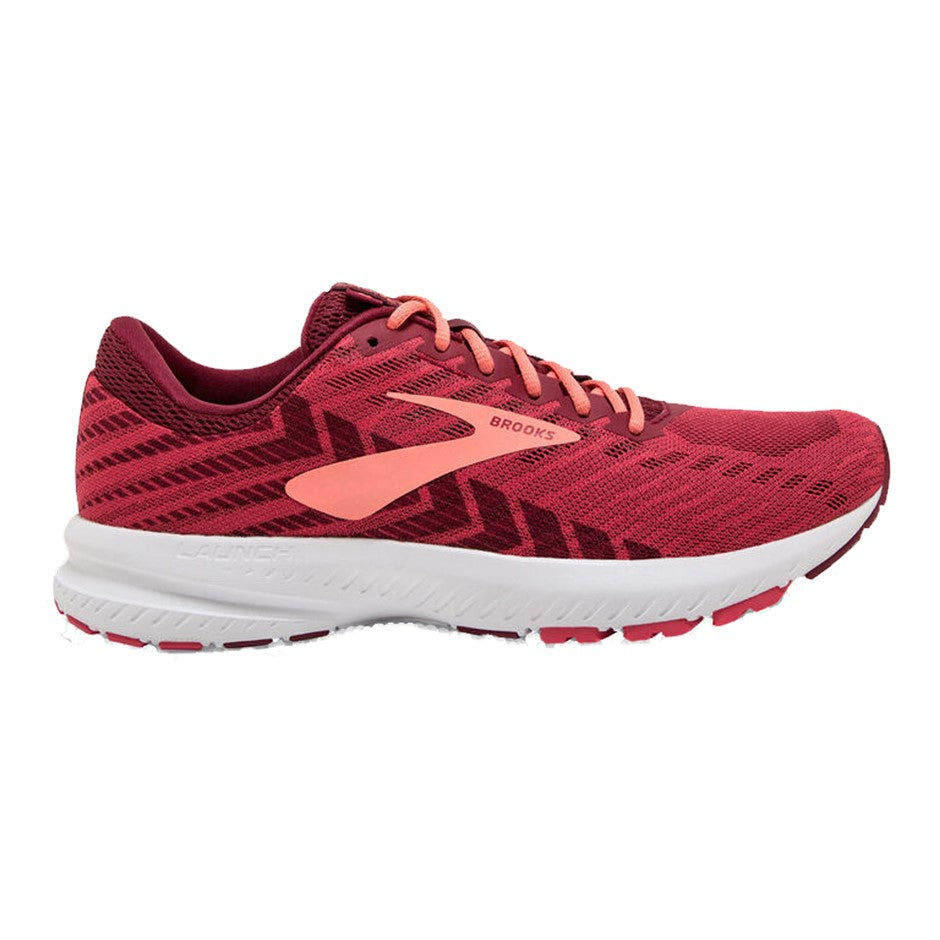 Launch 6 Road Running Shoes for Women in Red & Pink 628
