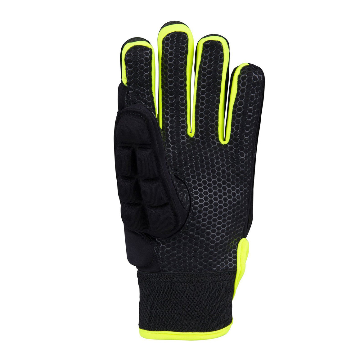 International Pro Glove for Men in Black & Lemon