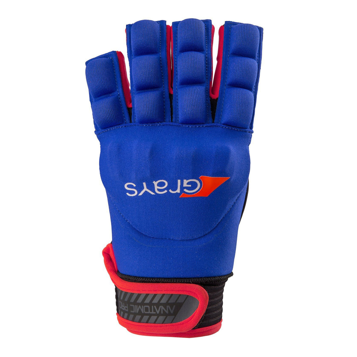 Anatomic Pro Hockey Glove for Men in Navy & Red