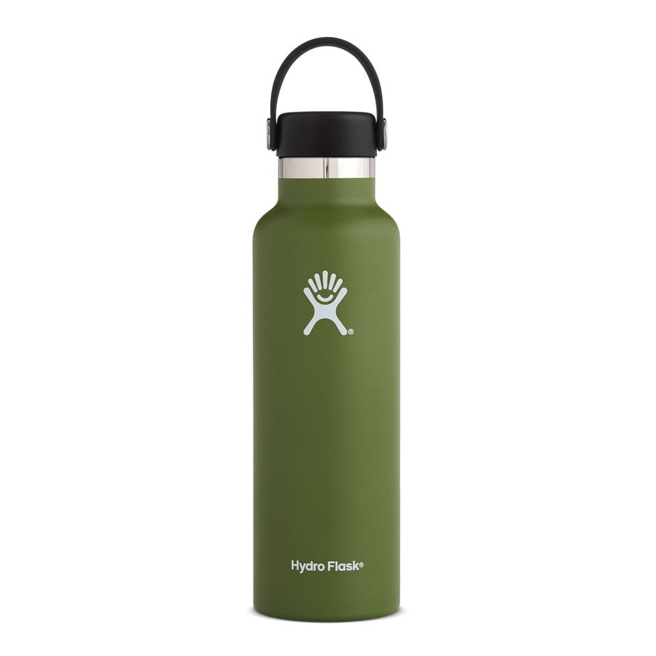 Standard Mouth Bottle in Olive