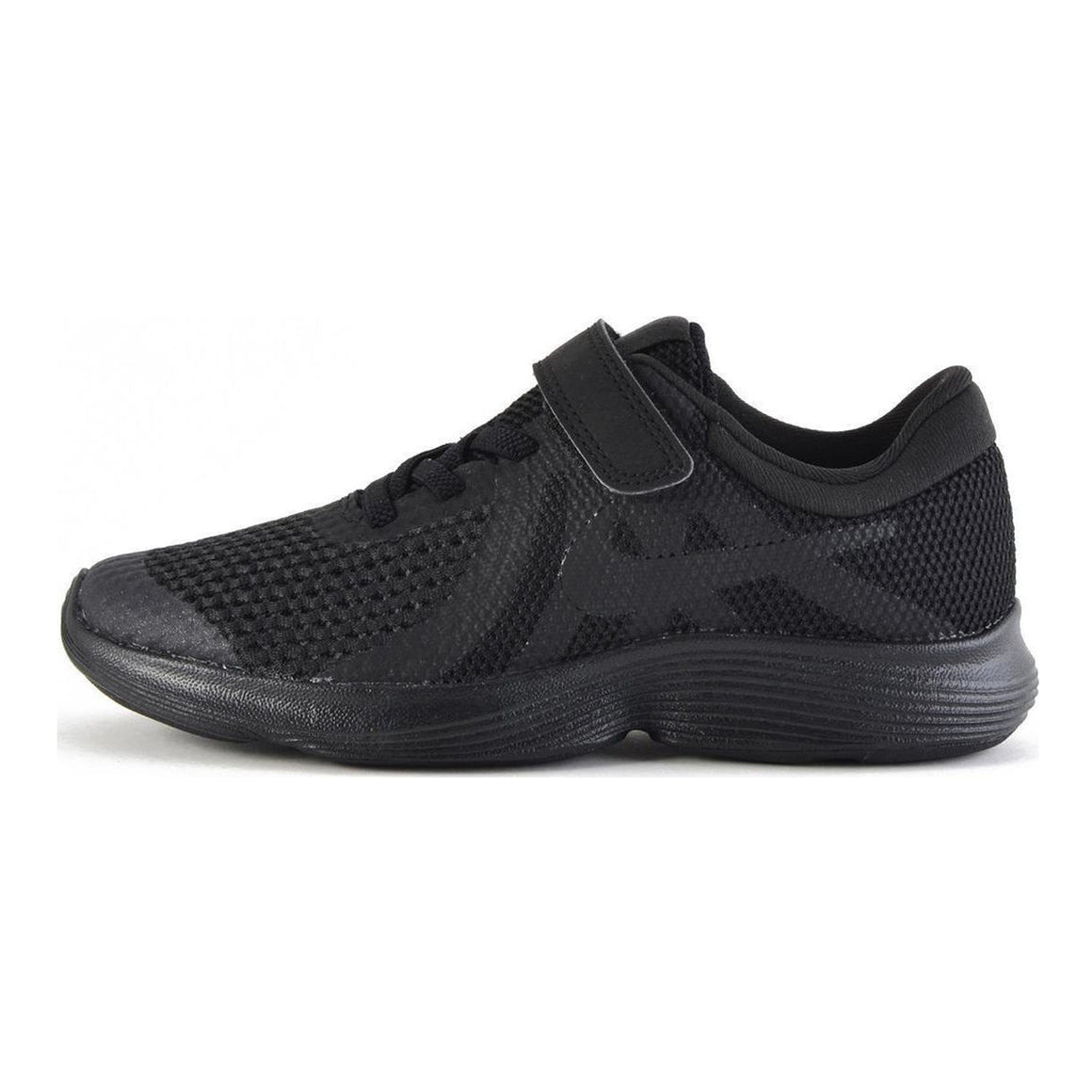 Revolution 4 (PSV) Running Shoes for Kids in Black