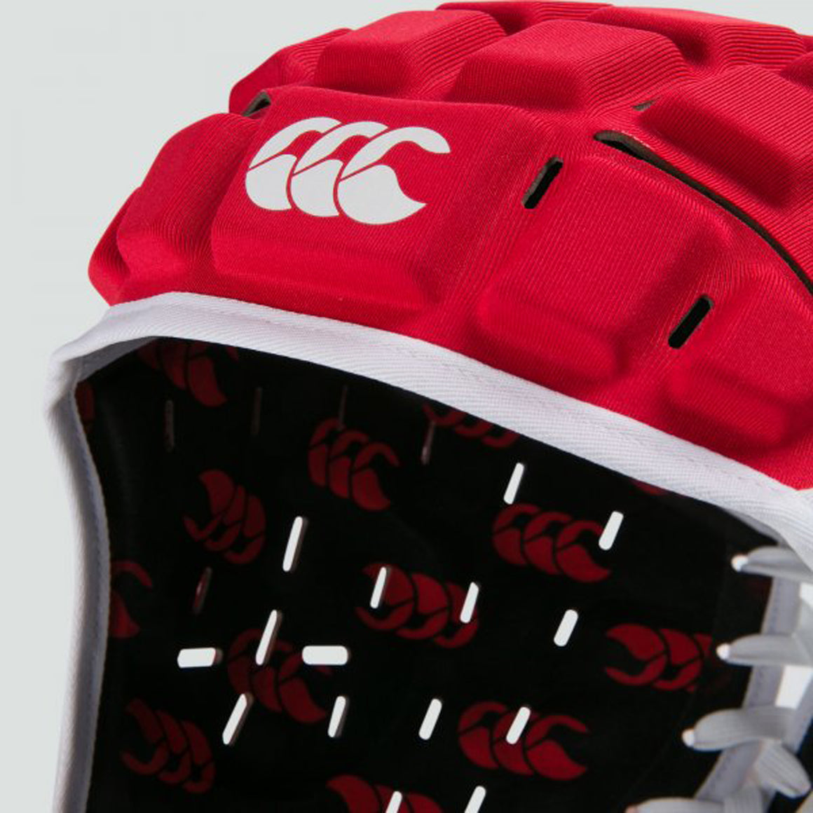 Reinforcer Headguard in Bright Red