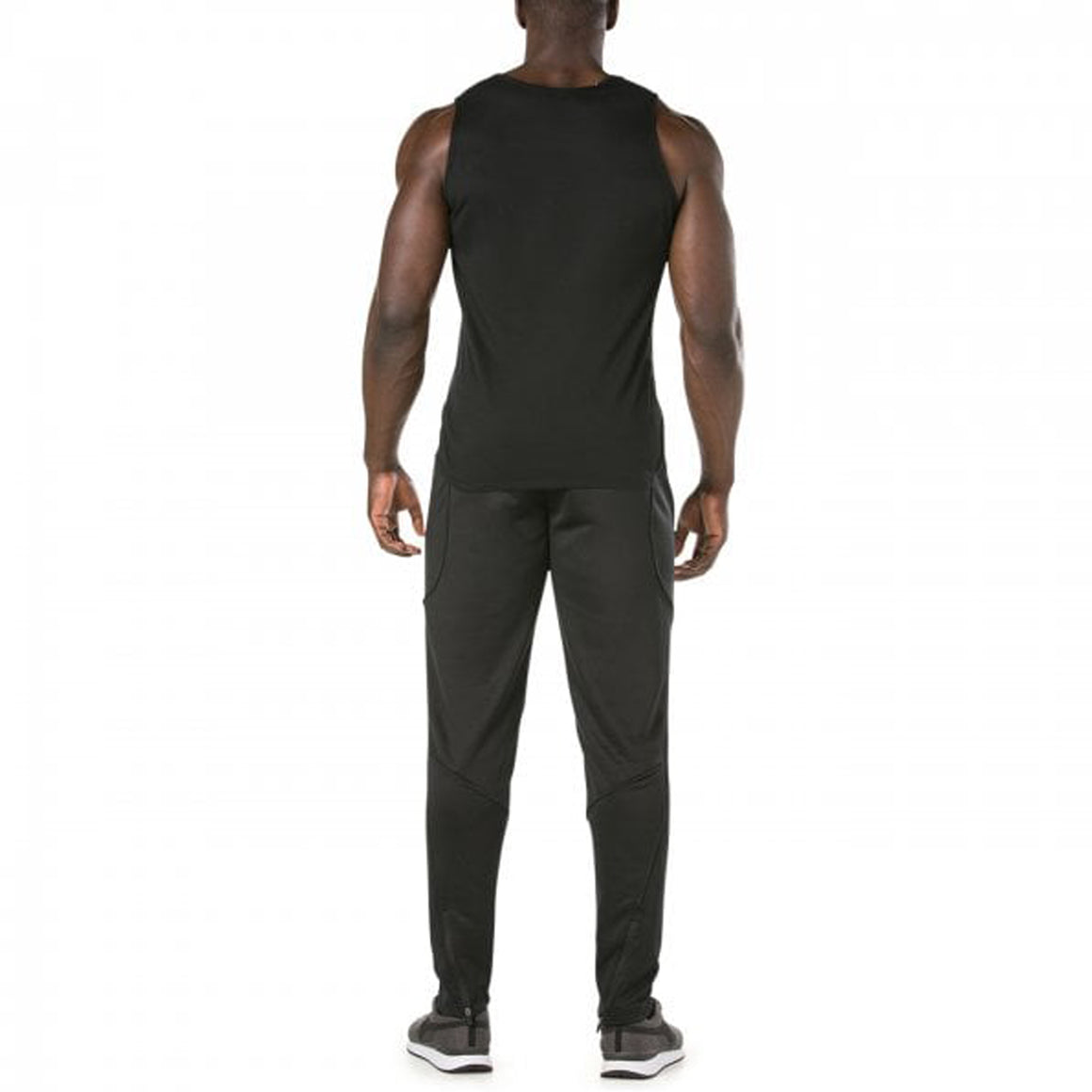 Vapodri Poly Knit Pants for Men in Black