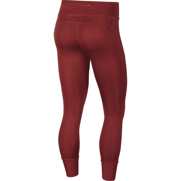 Fast 7/8 Tight Air GX Running Tights for Women in Rose & Black