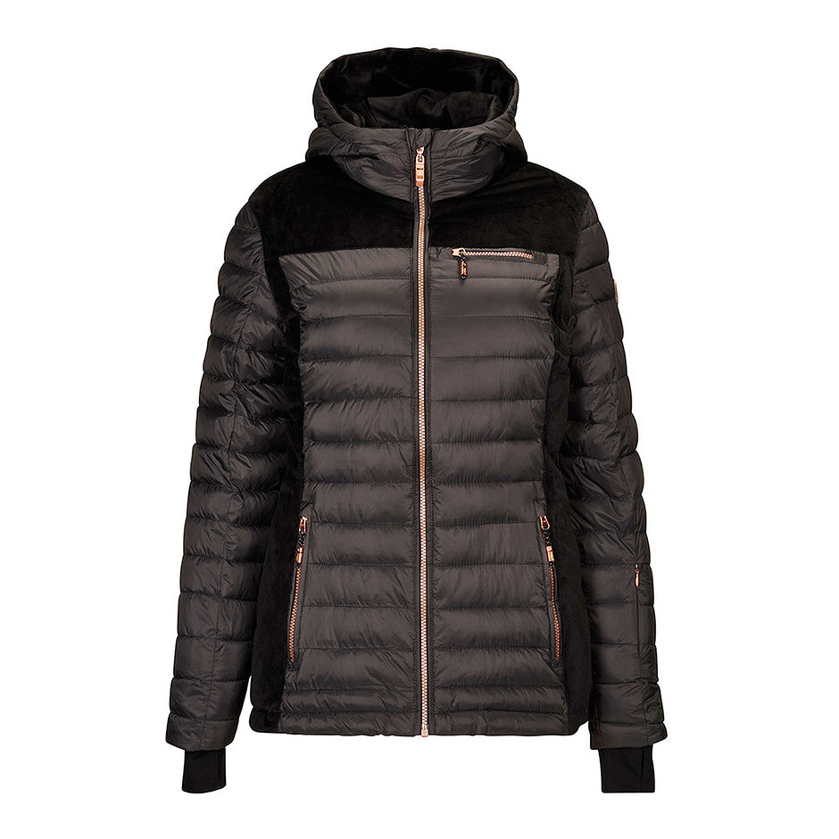 Arilia Ski Jacket in Down Look for Women in Anthracite