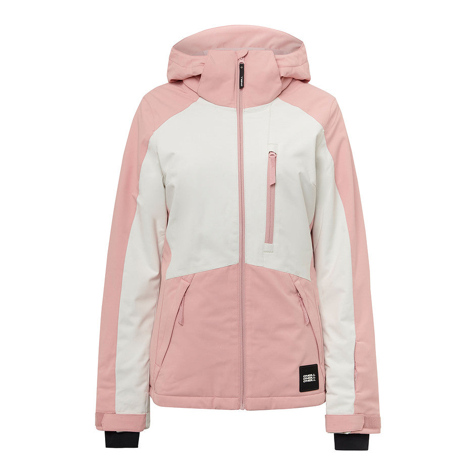 Aplite Ski Jacket for Women in Bridal Rose