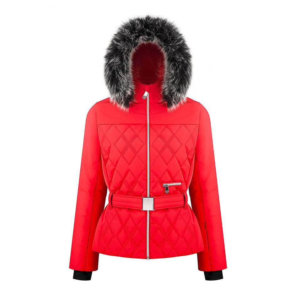 W19 1003 WO/A Ski Jacket for Women in Scarlet Red