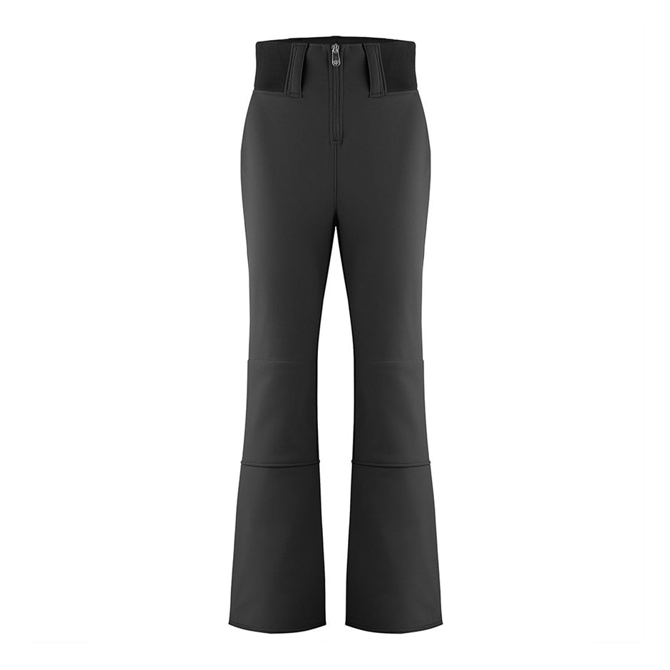 W19 1121 Softshell Ski Pants for Women in Black