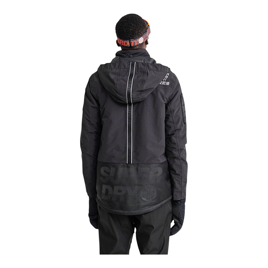 Snow Rescue Overhead Jacket for Men in Black
