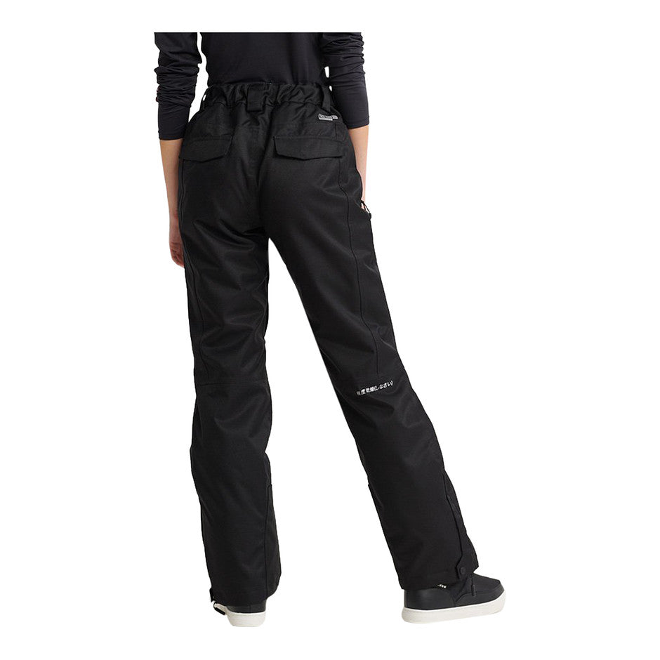 SD Ski Run Pants for Women in Onyx Black