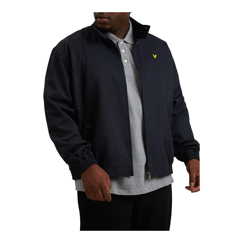 Harrington Jacket for Men in Navy