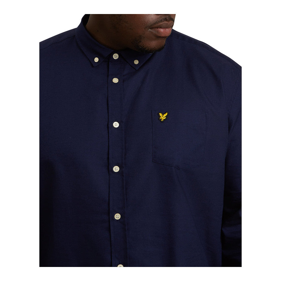 Oxford Shirt for Men in Navy