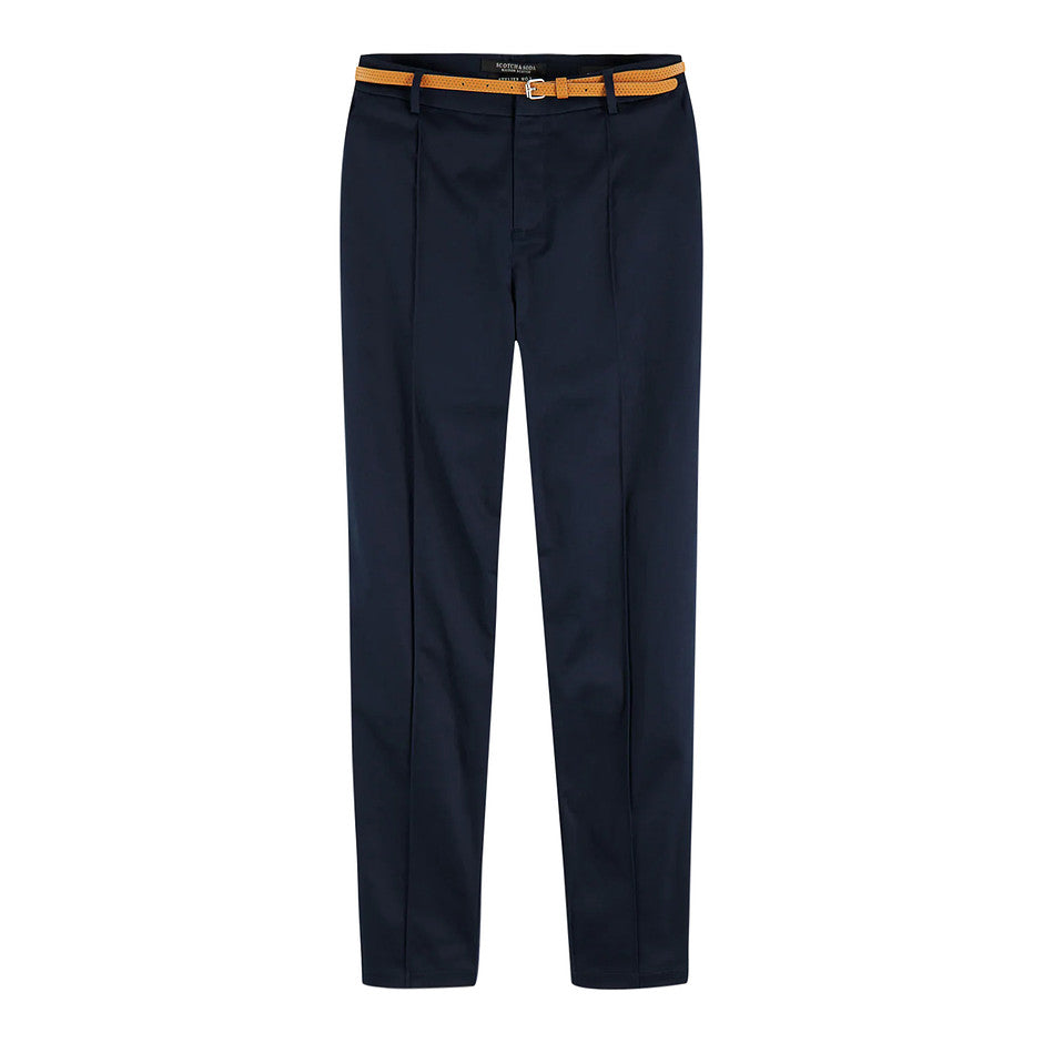 Regular Fit Chino for Women in Navy