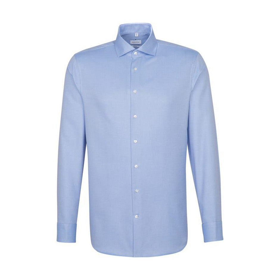 Sateen Dobby Shirt for Men in Sky