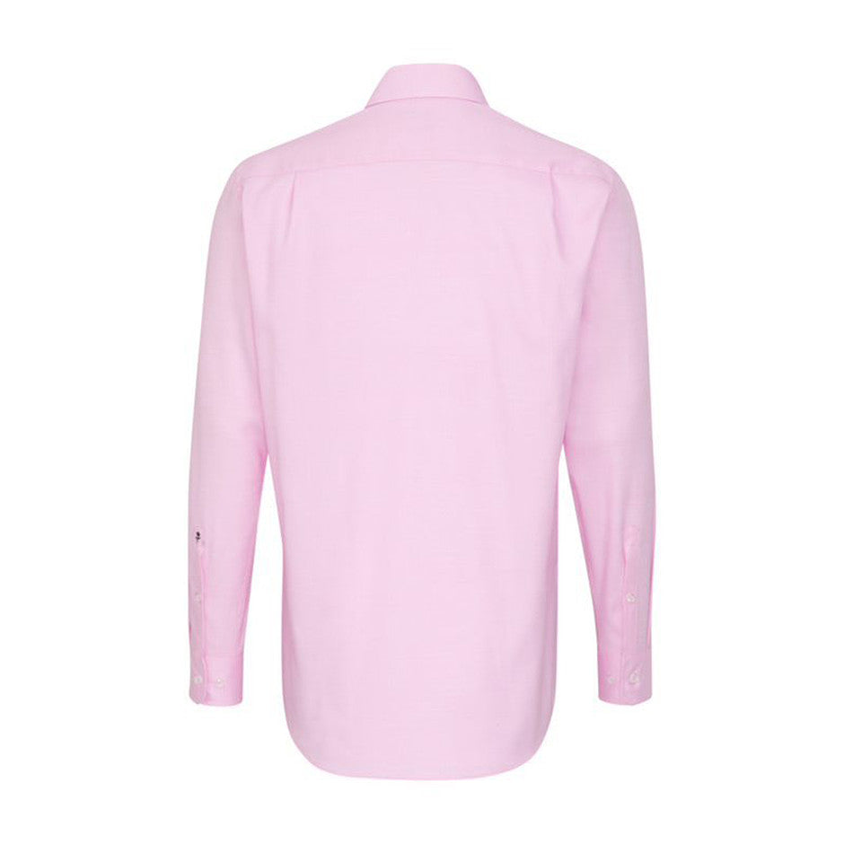 Textured Shirt for Men in Pink