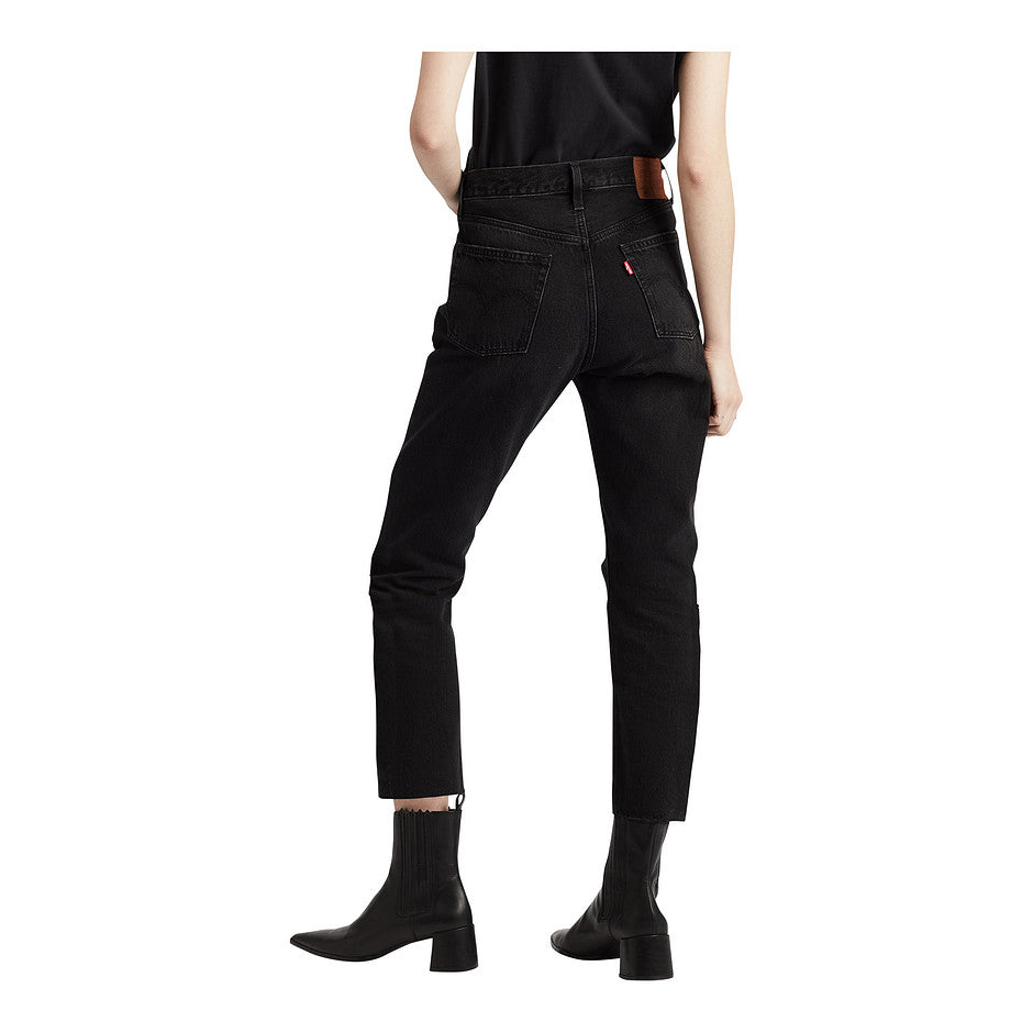 501 Crop Jeans for Women in Black