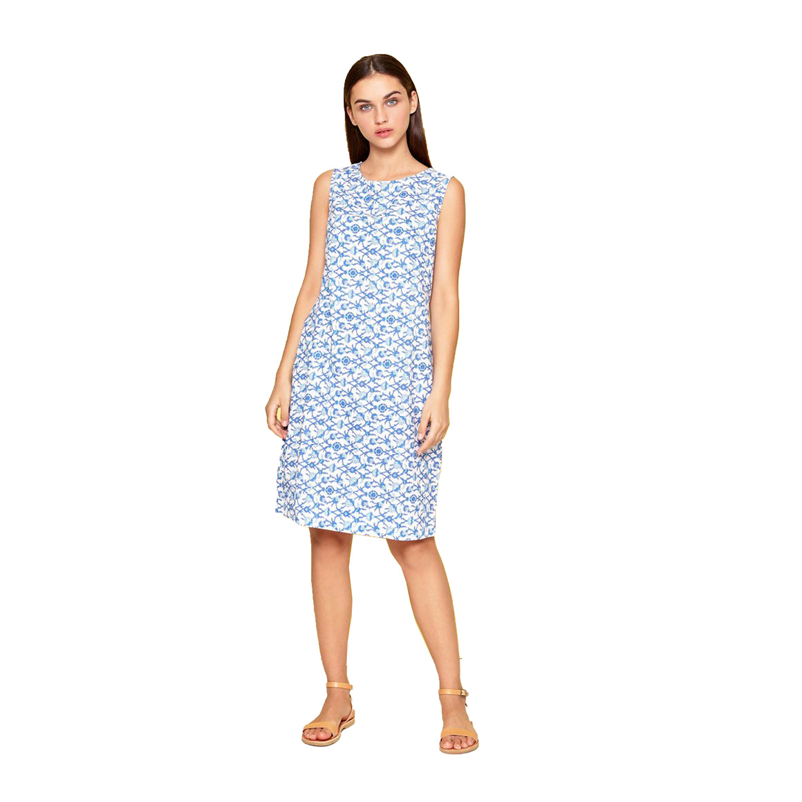 Jessica Shift Dress for Women in Blue