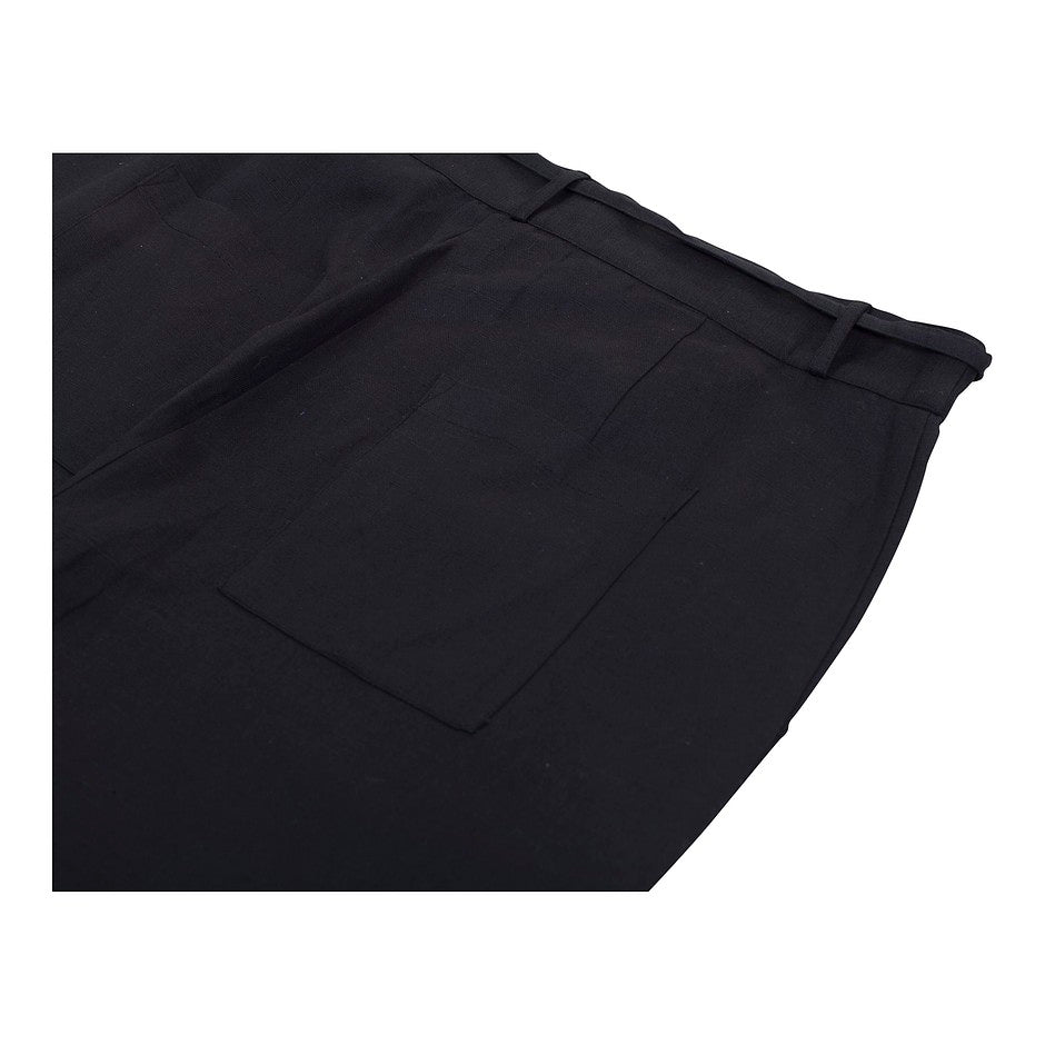 Linen Trouser for Women in Black