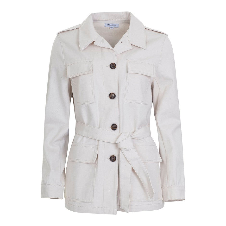 Safari Jacket for Women in Sand