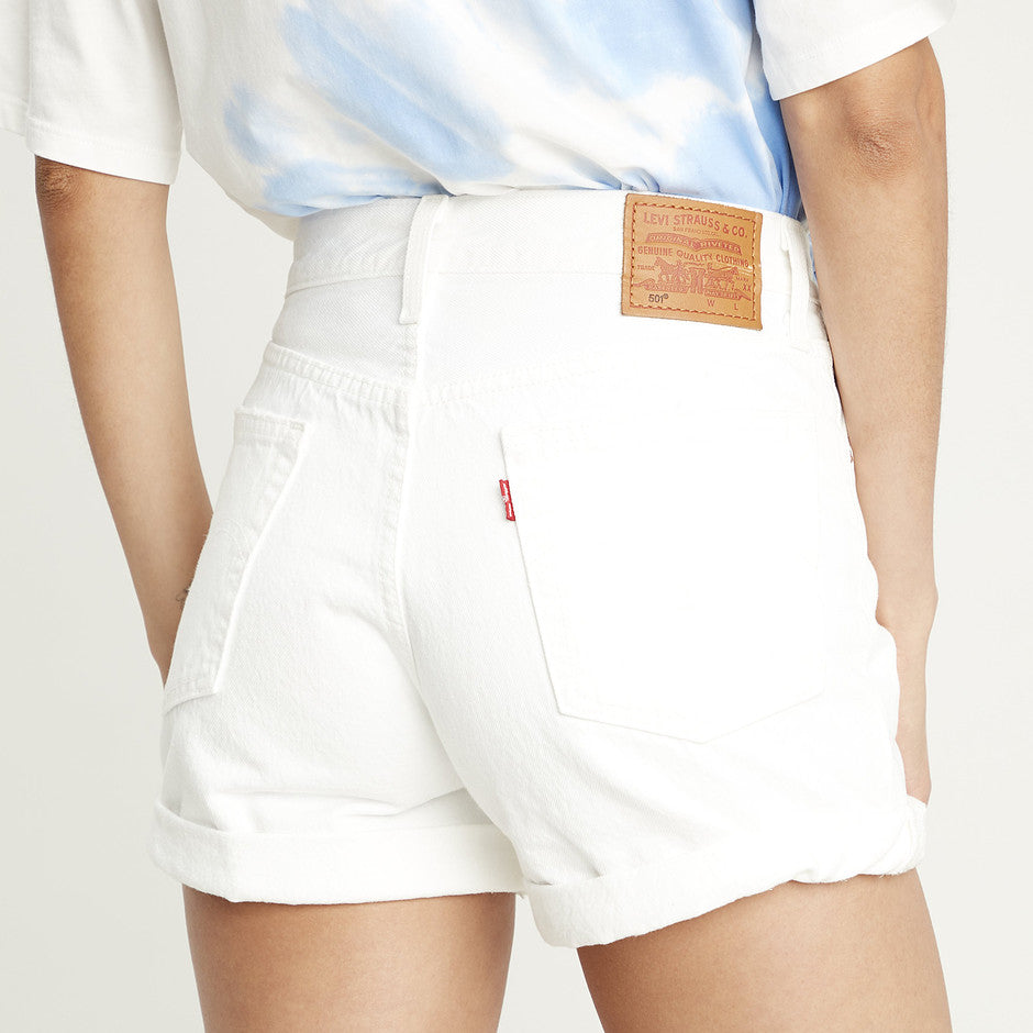501 Short for Women in White