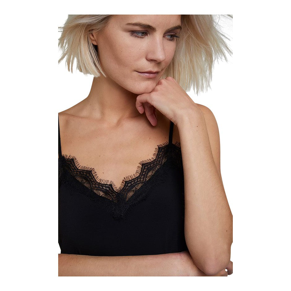 Lace Camisole for Women in Black