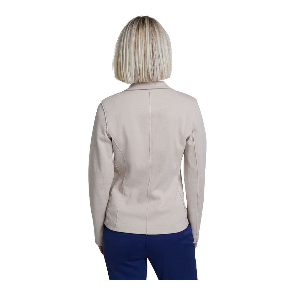 Stretch Jacket for Women in Stone