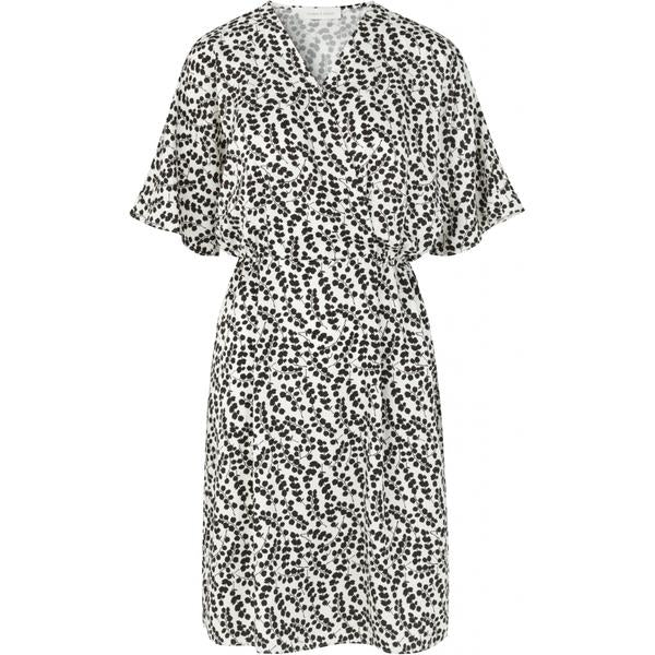 Eucalyptus Print Dress for Women in Black & White
