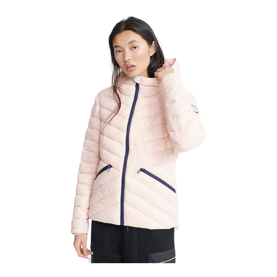 Helio Padded Jacket for Women in Pink