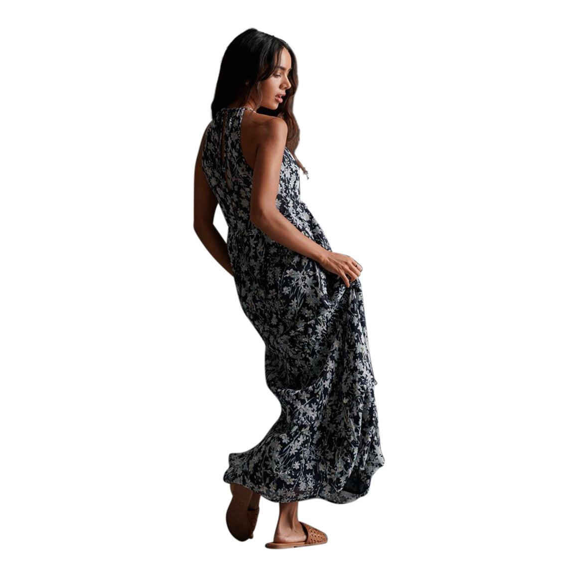 Margaux Maxi Dress for Women in Navy
