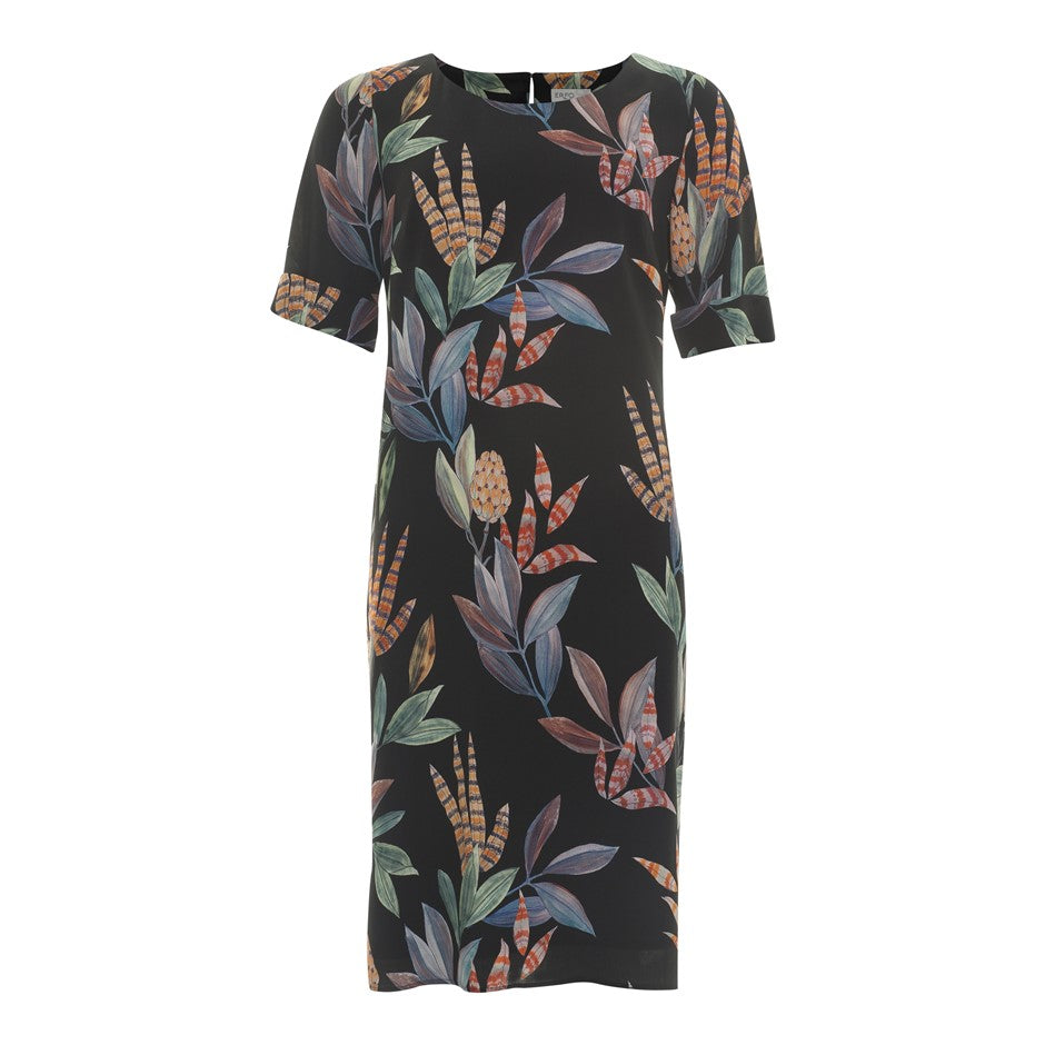 Floral SS Dress for Women in Multi 1