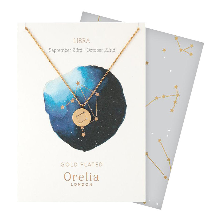 Libra Necklace for Women in Gold