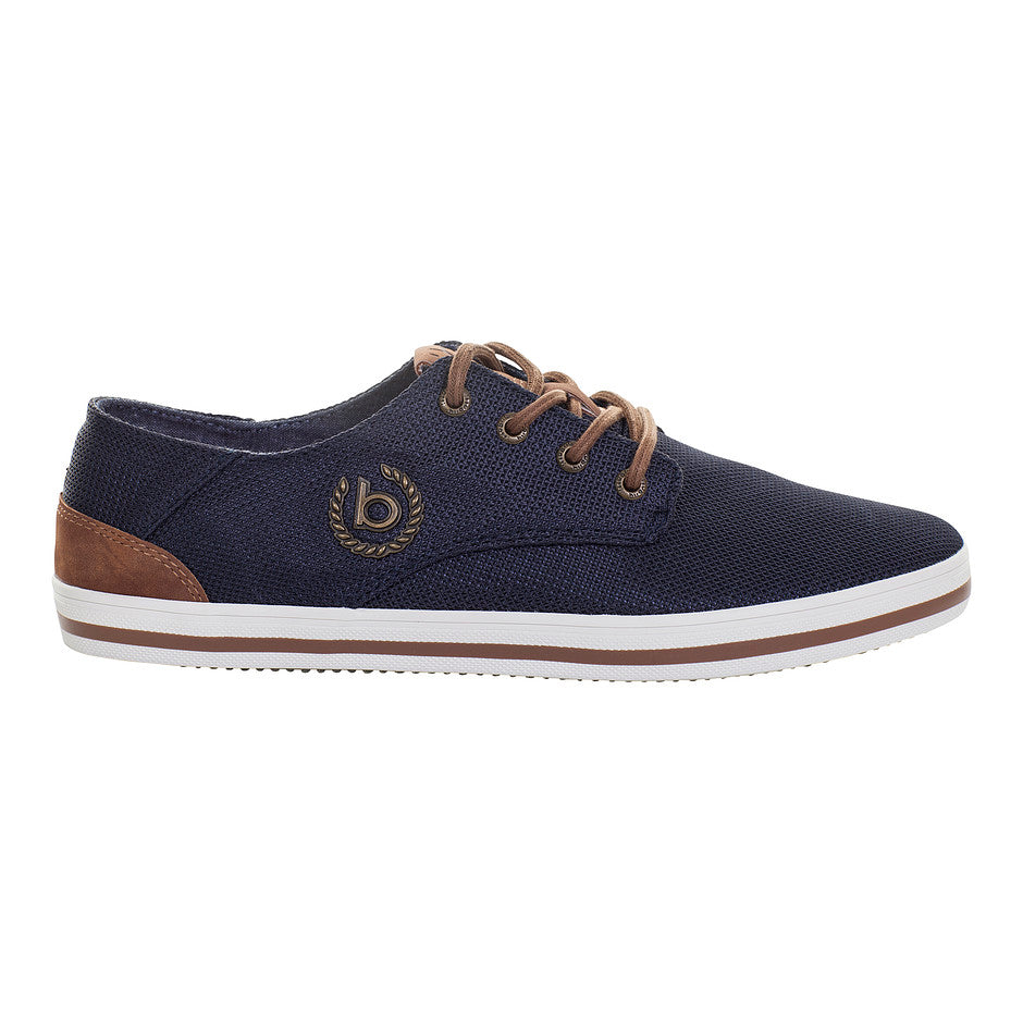 Lace-up Shoes for Men in Dark Blue