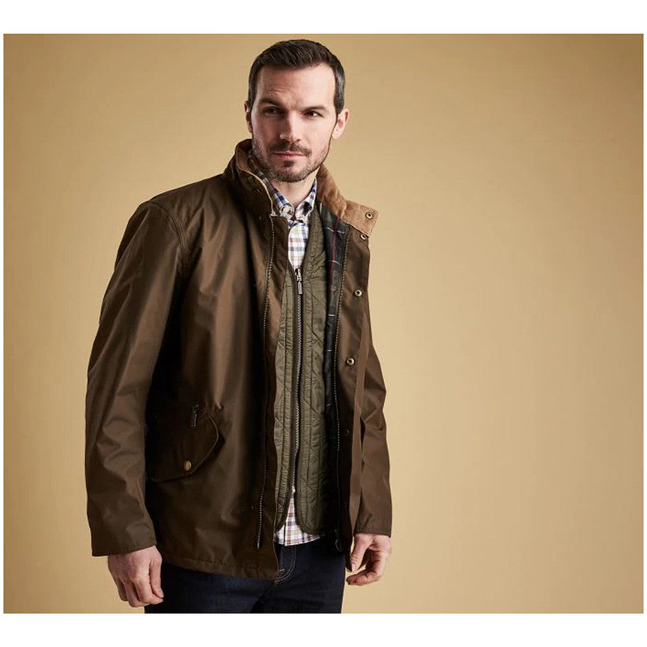 Spoonbill Jacket for Men in Olive