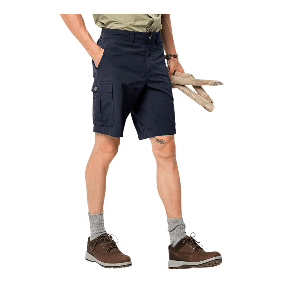 Canyon Cargo Short for Men in Navy