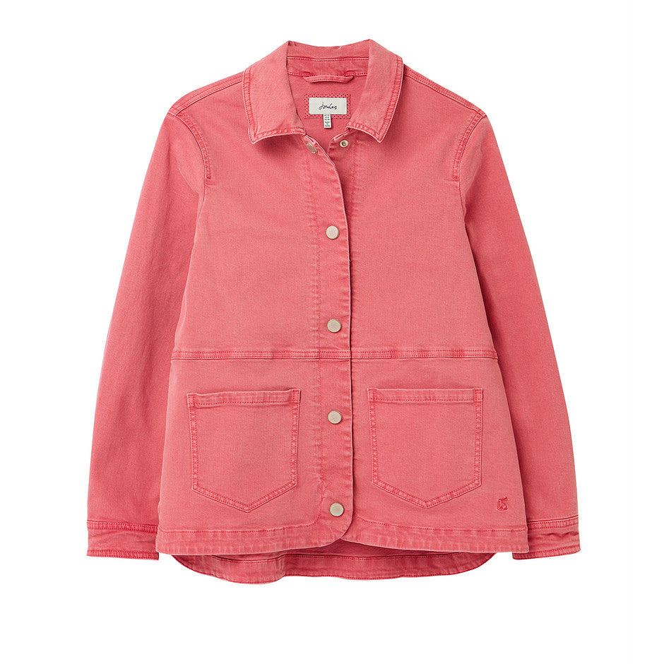 Imogen Denim Jacket for Women in Pink