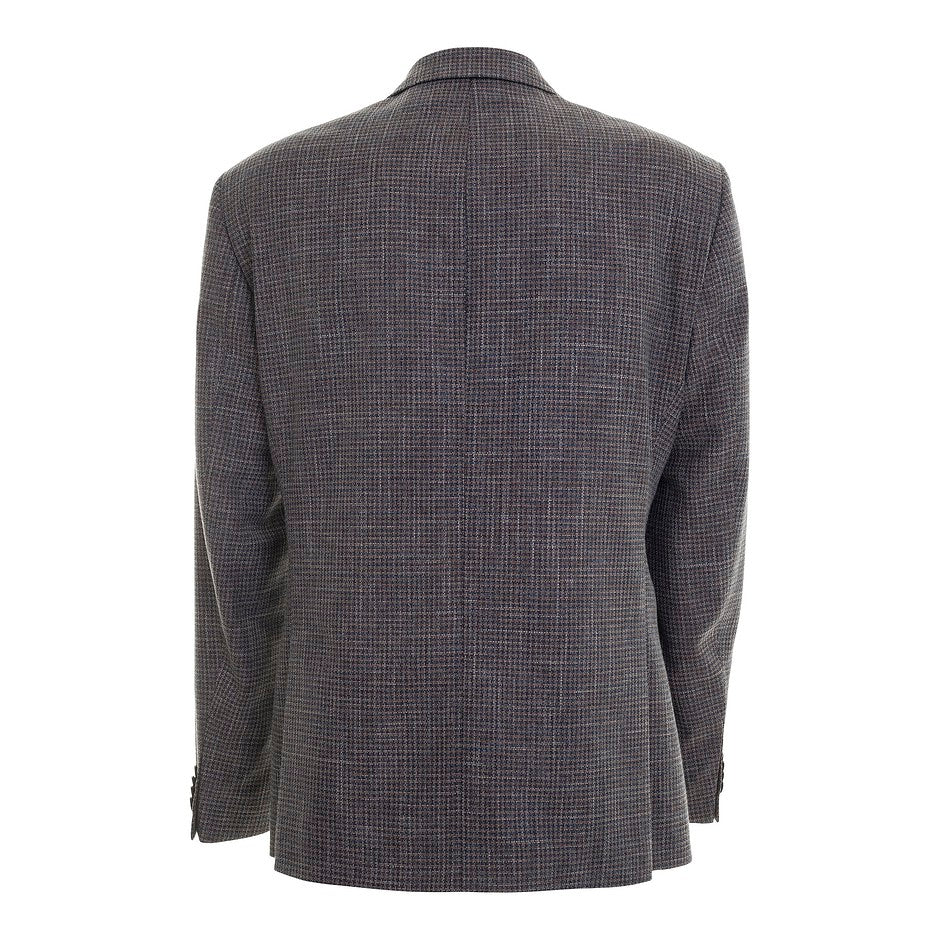 Edison Textured Jacket for Men in Brown