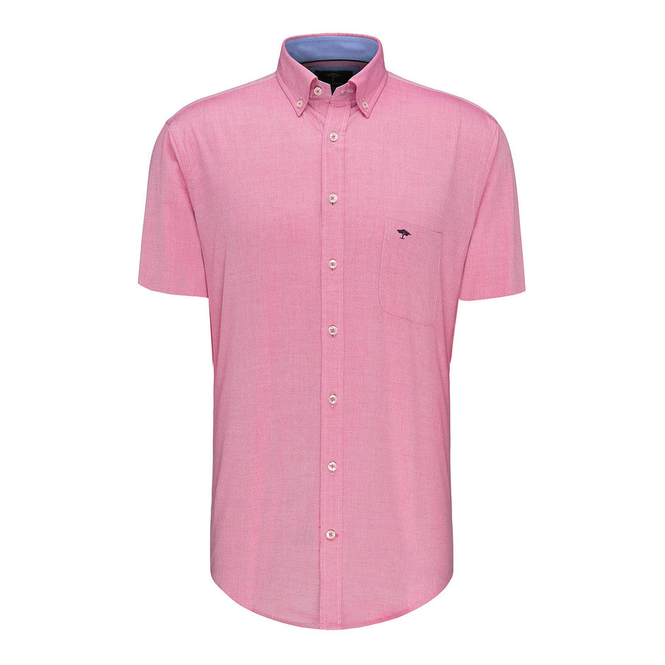 Summer Structure SS Shirt for Men in Pink