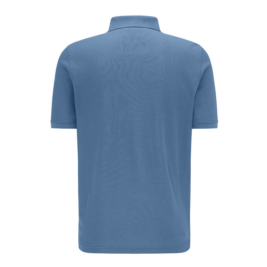 Supima Cotton Polo for Men in Blue