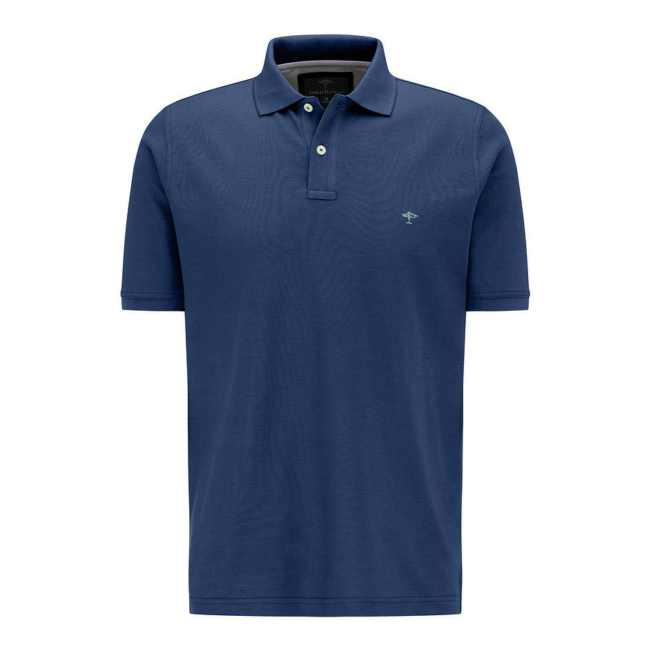 Supima Cotton Polo for Men in Navy